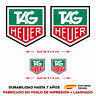4 X VINILO ADHESIVO PEGATINA STICKER TAG HEUER COCHE RACING CASCO MOTO RALLY GP