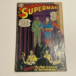 *** Superman #186 *** May 1966 - Silver Age DC Comic Book