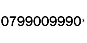 GOLD EASY MEMORABLE VIP UK MOBILE PHONE NUMBER PLATINUM SIMCARD 99009990