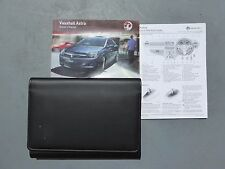 VAUXHALL ASTRA H 2004-2010 HANDBOOK OWNERS MANUAL & WALLET GENUINE PRINT 2010