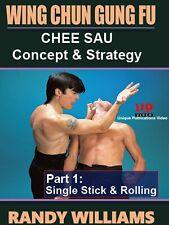 Wing Chun Gung Fu Chee Sau #1 Sticky Hands Single Stick Dvd Randy Williams