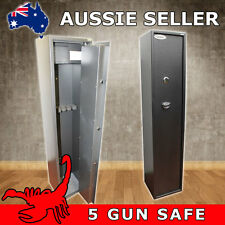 5 GUN KEY LOCK GUN SAFE, RIFLE, SHOTGUN SAFE CAT A & B FIREARMS - SCORPION