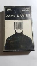Dave Davies - Dave Davies (RCA, 1980) Extremely Rare Cassette