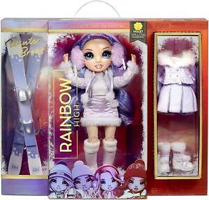 Rainbow High Winter Break Violet Willow Doll NIB