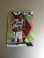 2019-20 Panini Mosaic De'Andre Hunter NBA Debut Silver Prizm Rookie Hawks SHARP!