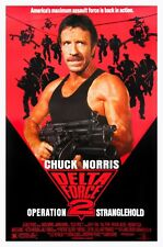 DELTA FORCE 2: OPERATION STRANGLEHOLD (1990) ORIGINAL MOVIE POSTER  -  ROLLED