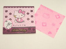 DAISO JAPAN HELLO KITTY OIL BLOTTING PAPER A 50sheets MADE IN JAPAN