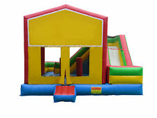 NEW Commercial Heavy Duty 18 oz Vinyl Inflatable Jumper Bouncer House Combo