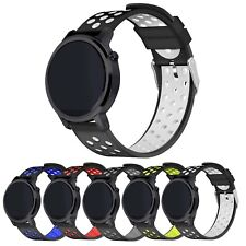 Replacement Watch Band Strap StrapsCo Tpu Perforated Rally