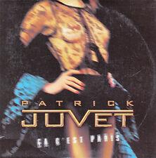 """CD SP 2 T PATRICK JUVET  """"CA C'EST PARIS"""""""