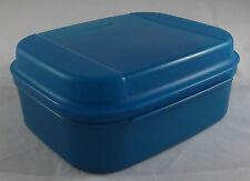 Tupperware A 02 Naschkätzchen Behälter Dose 1,7 l Petrol Blau Neu OVP