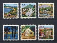 27247A) GUINEA 1967 MNH** Nuovi** Tourism 6v