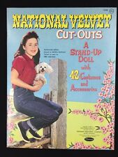 Vintage 1962 MGM Movie National Velvet Cut Out Doll Paper Dolls Uncut