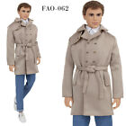 FAO-062 Jeans  beige trench  T-shirt for Ken Fashionista and similar dolls