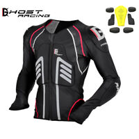 Motorcycle Armour Jacket Off Road Motocross Racing Motorbike Removable Protector