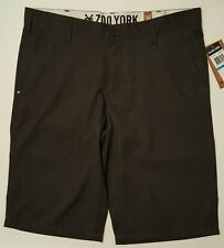 Zoo York Mens Jester Suit Shorts Washed Black Size 36 NWT New