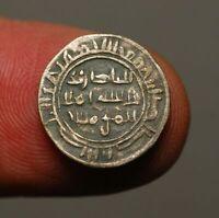 IS48-19    YEMEN Rassid al-Nasir AH301-325 / 913-937AD Silver 1/6 dirham