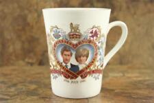 Vintage Commemorative Lady Diana Wedding Bone China Connoisseur Coffee Mug