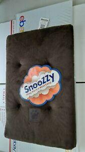 Precision Pet Snoozzy Sleeper Pet Bed mattress 17.5  x  11.5 chocolate