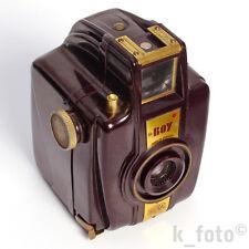 Bilora Boy 66 * 6x6 Bakelit-Rollfilmkamera