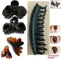 Hair Claw Clip Women Butterfly Clamp Clips Clutches Catcher Salon Strong Up Hold