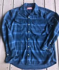 SIMMS FLY FISHING  Men's Gallatin UPF 50+ Flannel Shirt Admiral Blue Large