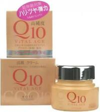 KOSE ViTAL AGE Coenzyme Q10 Facial Moisturizing Cream 40g (1.41oz) From Japan