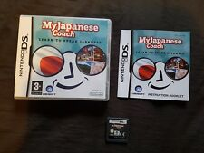 MY JAPANESE COACH Nintendo DS Game