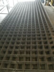 Wire Mesh 4x4 Panel / Sheet 7ft x 20 ft Concrete Slabs, Gardening, Fencing