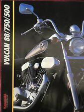 Kawasaki VULCAN 88 750 500 1993 prospectus brochure US
