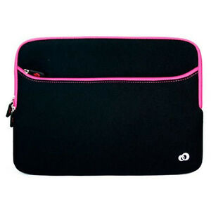 "13"" Pink Neoprene Laptop Sleeve Case for 13.3"" HP Pavilion x360 x360 13 Notebook"