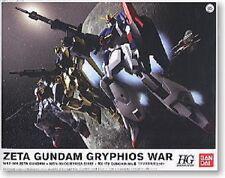 HG Zeta Gundam Gryphios War set (Z MK-II Hyaku Shiki) 1/144 model kit Bandai