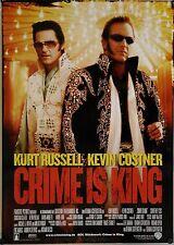 (Gerollt) Kinoplakat - Crime Is King (2001) Kurt Russell, Kevin Costner#31115