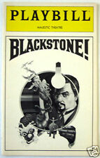 Original Harry Blackstone! Broadway Playbill