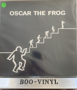OSCAR THE FROG Oscar The Frog  LP Rare Uk Folk 1980, Css 010 NR MINT CON