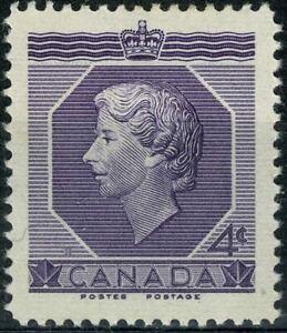 CANADA 1953 COURONNEMENT QUEEN ELIZABETH II  YT n° 265 neuf ★ / MH