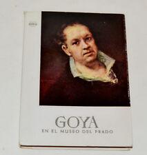 Goya en el Museo del Prado Madrid Offo 1958