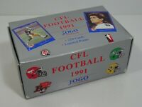 1991 JOGO CANADIAN FOOTBALL TRADING CARD LOT CFL 220 Cards Limited Prints
