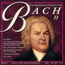 The Masterpiece Collection: Bach, Vol. 2 (CD, Unison) BRAND NEW!