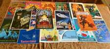 """Disney Parks Attraction Posters 12""""x18 - CHOOSE YOUR OWN (Buy 3 Get 2 Free)"""