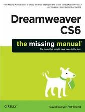DREAMWEAVER CS6 - NEW PAPERBACK BOOK