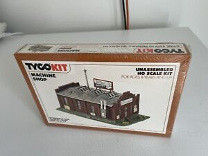 Machine Shop Building Kit HO scale made by Tyco New Factory sealed LOOK!!!