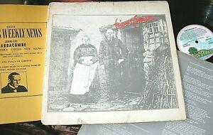 "FAIRPORT CONVENTION -     ""Babbacombe"" Lee,     ORIG 1971 UK LP + BOOK / inner"