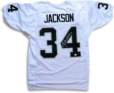 Bo Jackson Autographed Jersey Oakland Los Angeles Raiders White JSA WP336012