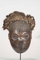 ART PRIMITIF AFRICAIN - MASQUE TCHOKWE DU CONGO RDC / ZAIRE