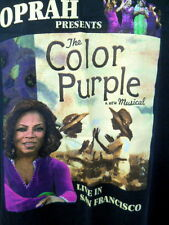 Oprah Tee Shirt Presents The Color Purple A New Musical Live in San Francisco Lg