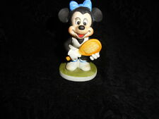 Disney Minnie Mouse Tennis Player Ceramic Porcelain Figure - Free Shipping