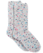 Charter Club women's Speckle Supersoft Butter Sock Socks Gray Multi OS