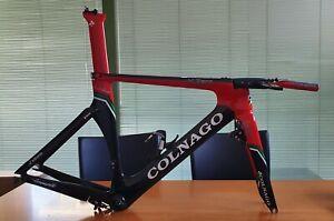 COLNAGO K-ZERO size S official team EMIRATES italian carbon TT chrono frameset