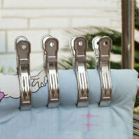 20 stk Edelstahl Wäscheklammern Wäscheklammer Metall-Wäscheklammern-Klammern